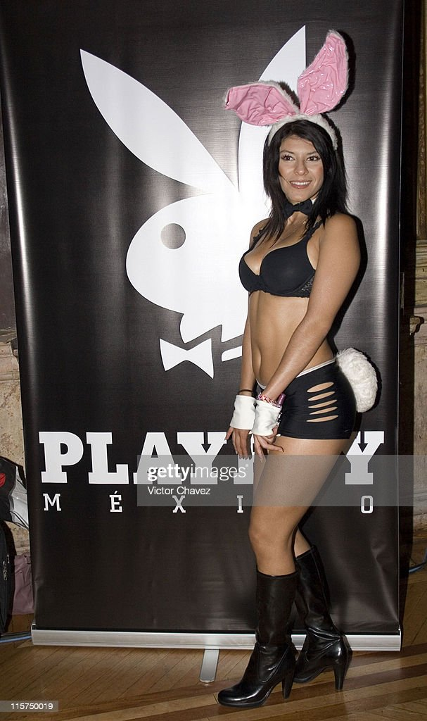 Playboy Bunny during Playboy Mexico Magazine 4th Anniversary at Casino Español in Mexico City, Mexico City, Mexico.