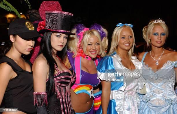 Playboy entourage with Paris Hilton