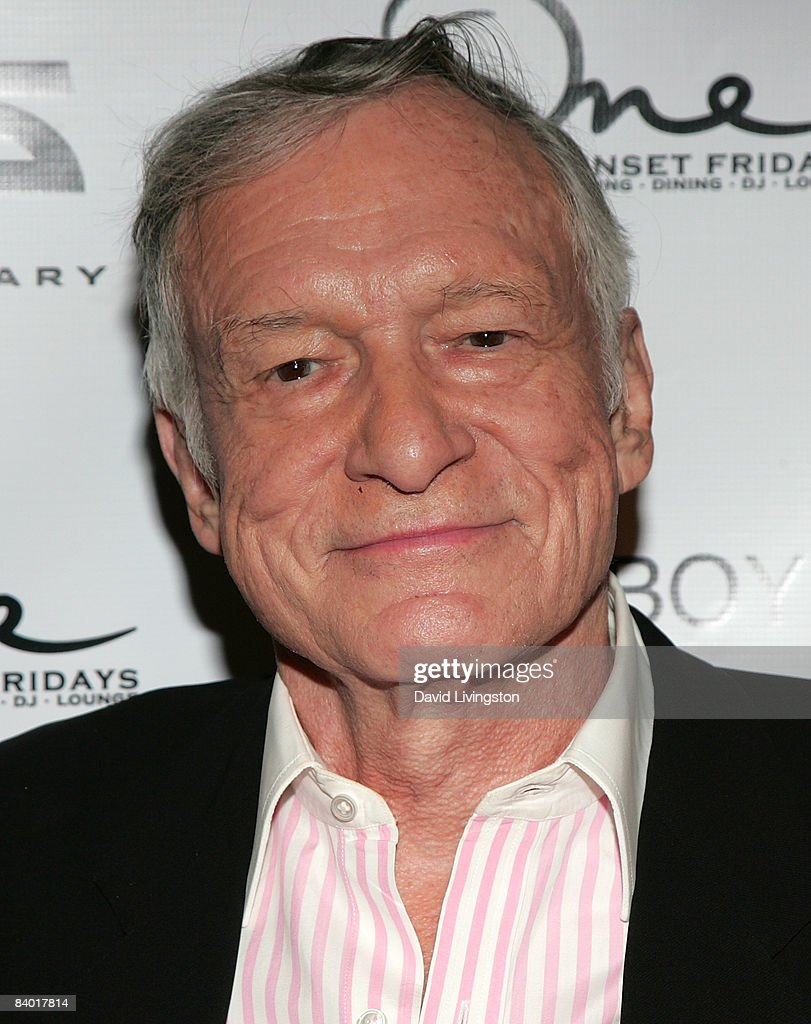 Playboy founder Hugh Hefner attends the magazine's 55th anniversary playmate celebration at ONE Sunset on December 12, 2008 in West Hollywood, California.