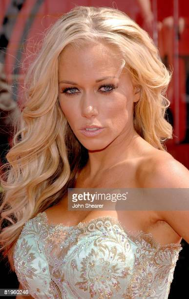 Playboy model and television personality Kendra Wilkinson arrives at the 2008 ESPY Awards held at NOKIA Theatre LA LIVE on July 16 2008 in Los...