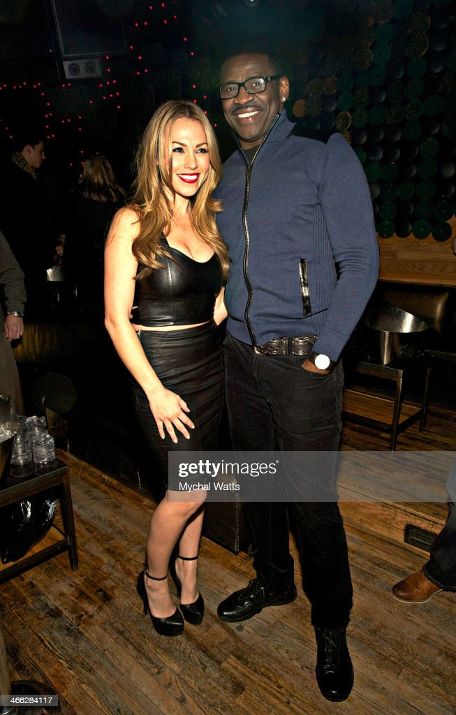 Playboy Model <a gi-track='captionPersonalityLinkClicked' href=/galleries/search?phrase=Jessica+Hall+-+American+Actress&family=editorial&specificpeople=11075037 ng-click='$event.stopPropagation()'>Jessica Hall</a> and NFL Hall of Fame Player <a gi-track='captionPersonalityLinkClicked' href=/galleries/search?phrase=Michael+Irvin&family=editorial&specificpeople=218074 ng-click='$event.stopPropagation()'>Michael Irvin</a> attends the 2014 Jocks And Jills Party at Greenhouse on January 31, 2014 in New York City.