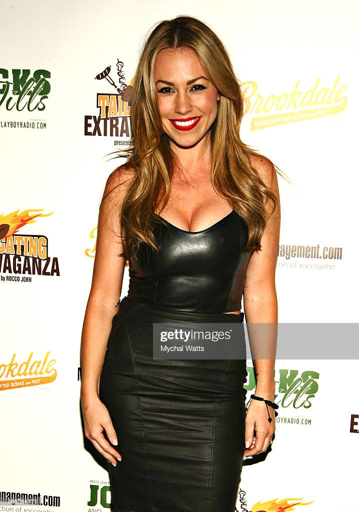 Playboy Model Jessica Hall attends the 2014 Jocks And Jills Party at Greenhouse on January 31, 2014 in New York City.