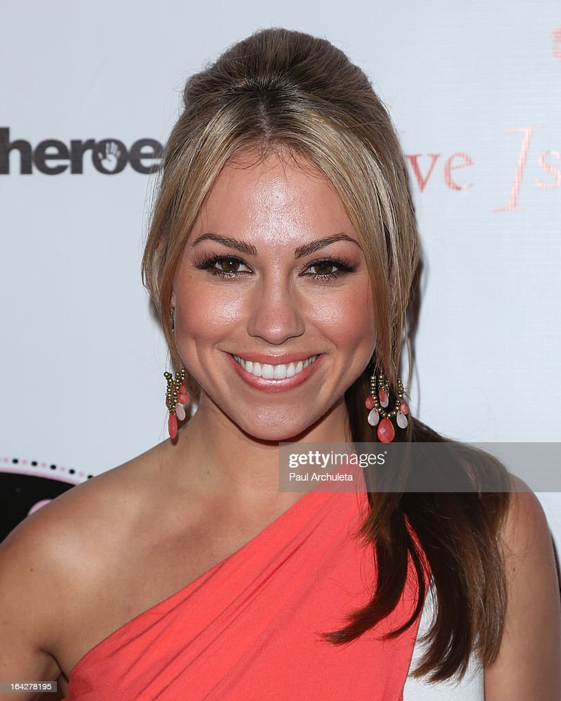 Playboy Model / Radio Personality Jessica Hall attends the 'Love Is Heroic' - The Unlikely Heroes annual spring benefit at the W Hollywood on March 21, 2013 in Hollywood, California.