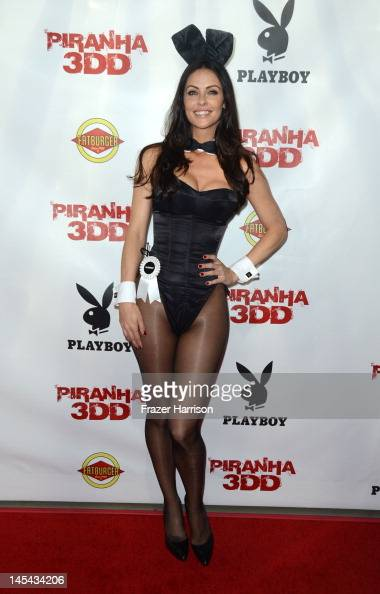 Playboy model Summer Altice arrives at the Premiere of Dimension Films' 'Piranha 3DD' at The Mann Chinese 6 on May 29 2012 in Los Angeles California