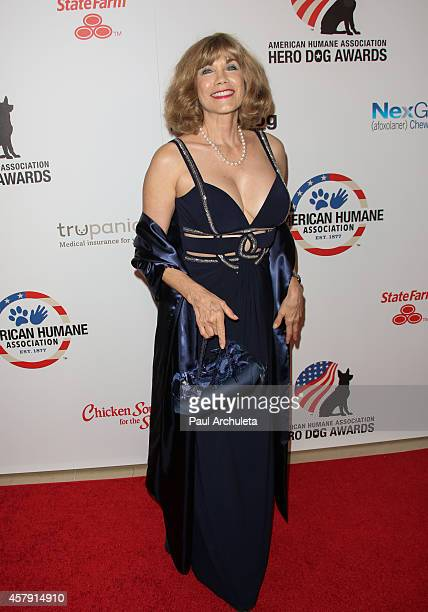 Playboy Playmate / Actress Barbi Benton attends the 4th annual American Humane Association Hero Dog Awards at The Beverly Hilton Hotel on September...