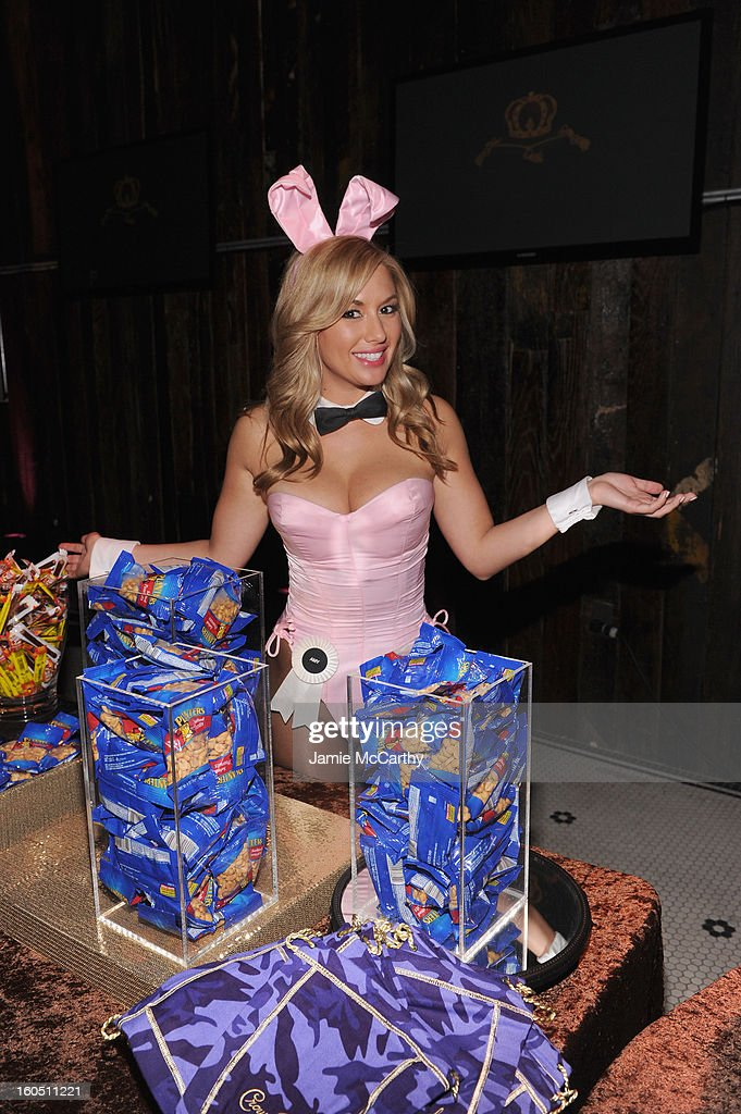 A Playboy Playmate attends The Playboy Party Presented by Crown Royal on February 1, 2013 in New Orleans, Louisiana.
