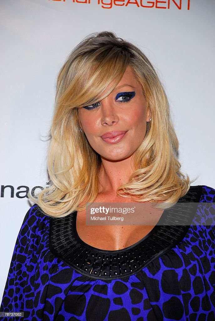 Playboy Playmate Charis Burrett arrives at the Financially Hung's Black Card Launch Party at the Vice nightclub on September 13, 2007 in Los Angeles, California.