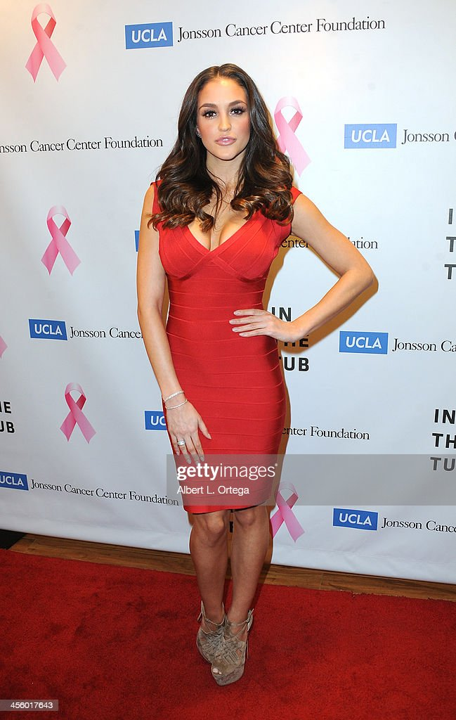Playboy Playmate Jaclyn Swedberg attends TJ Scott's 'In The Tub' Book Party Launch to benefit UCLA's Jonsson Cancer Center for Breast Research hosted by Katrina Law of 'Spartacus' held at Light In Art on December 12, 2013 in Los Angeles, California.