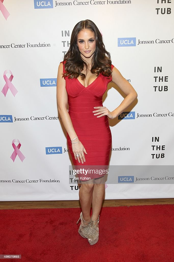 Playboy Playmate Jaclyn Swedberg attends TJ Scott's 'In The Tub' book launch party at Light in Art on December 12, 2013 in Los Angeles, California.