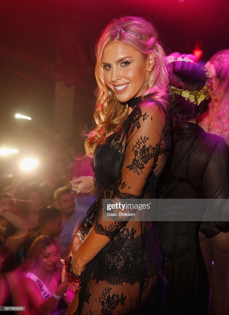 Playboy Playmate Kayla Rae Reid attend the Playboy Midsummer Night's Dream party at the Marquee Nightclub at The Cosmopolitan of Las Vegas on August 27, 2016 in Las Vegas, Nevada.