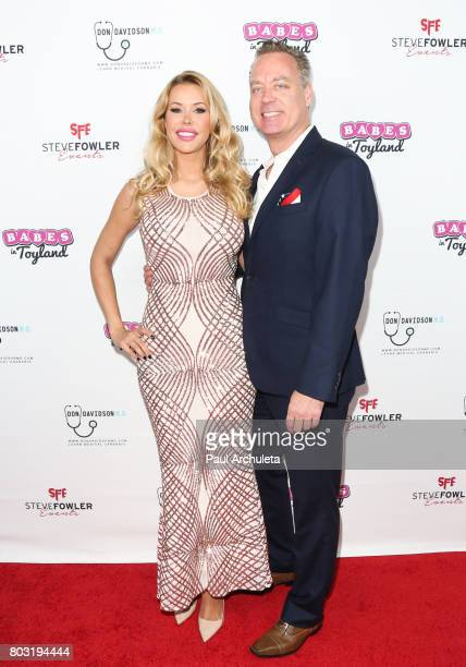 Playboy Playmate Kennedy Summers Kennedy Summers and Steve Fowler attend the 2nd annual 'Babes In Toyland Support Our Troops' charity event at Avalon...