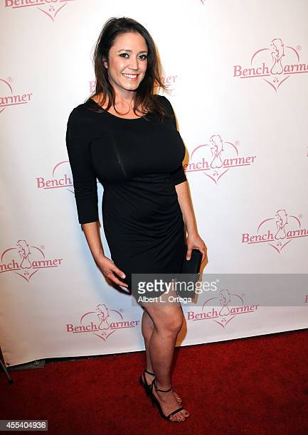 Playboy playmate Mariam Gonzales arrives for the Benchwarmer Back To School Red Carpet Party in conjunction with CEO Brian Wallos' Birthday...