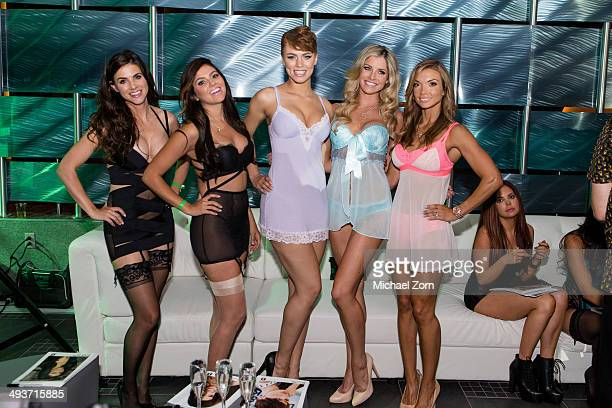 Playboy launch stock photos and pictures getty images - Playboy swimming pool ...