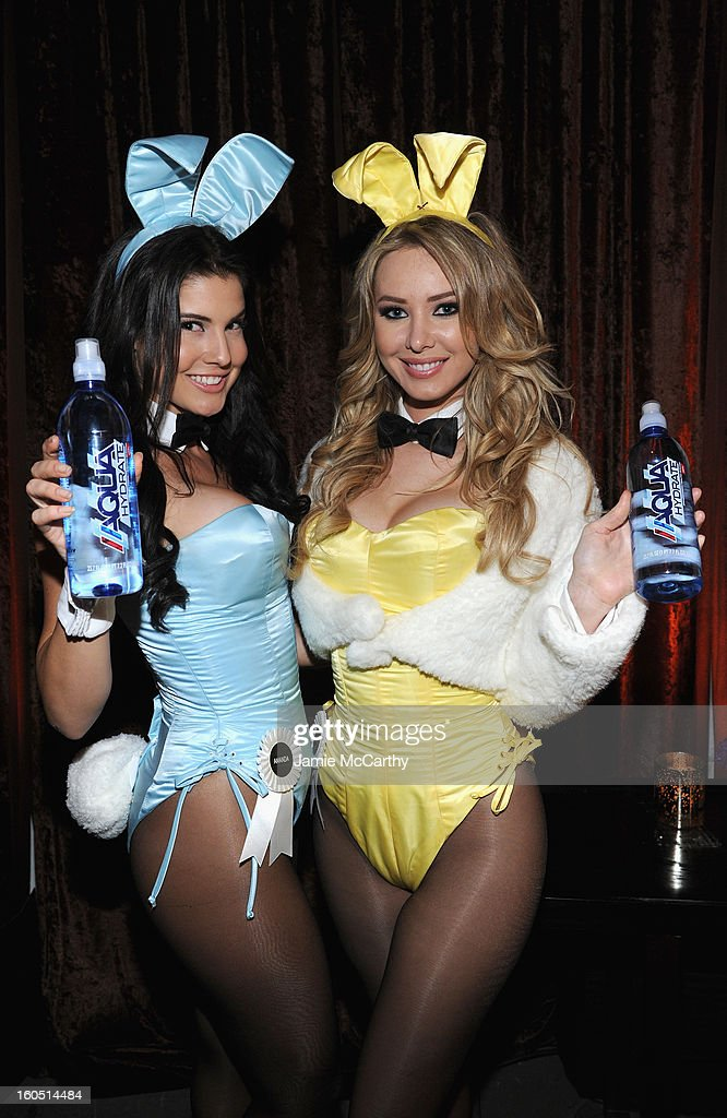 Playboy Playmates attend The Playboy Party Presented by Crown Royal on February 1, 2013 in New Orleans, Louisiana.