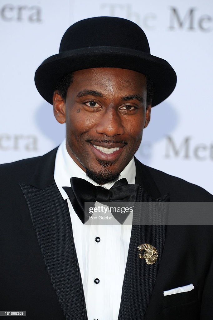 NBA player Amar'e Stoudemire attends the Metropolitan Opera season opening production of 'Eugene Onegin' at The Metropolitan Opera House on September 23, 2013 in New York City.