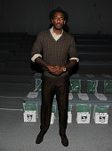 NBA player Amare Stoudemire attends the Richard Chai Spring 2012 fashion show during MercedesBenz Fashion Week at The Stage at Lincoln Center on...