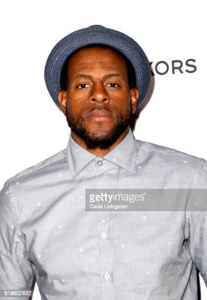 NBA player Andre Iguodala attends Sports Illustrated Fashionable 50 at Avenue on July 18 2017 in Los Angeles California