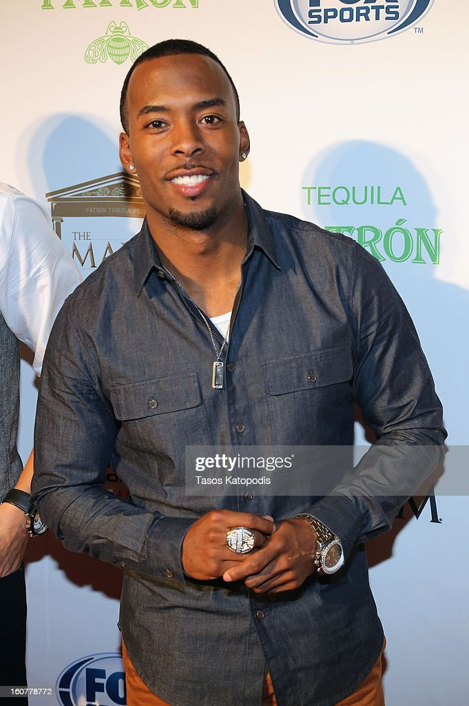 NFL player Andrew Hawkins attends The Maxim Party With 'Gears of War: Judgment' For XBOX 360, FOX Sports & Starter Presented by Patron Tequila at Second Line Warehouse on February 1, 2013 in New Orleans, Louisiana.