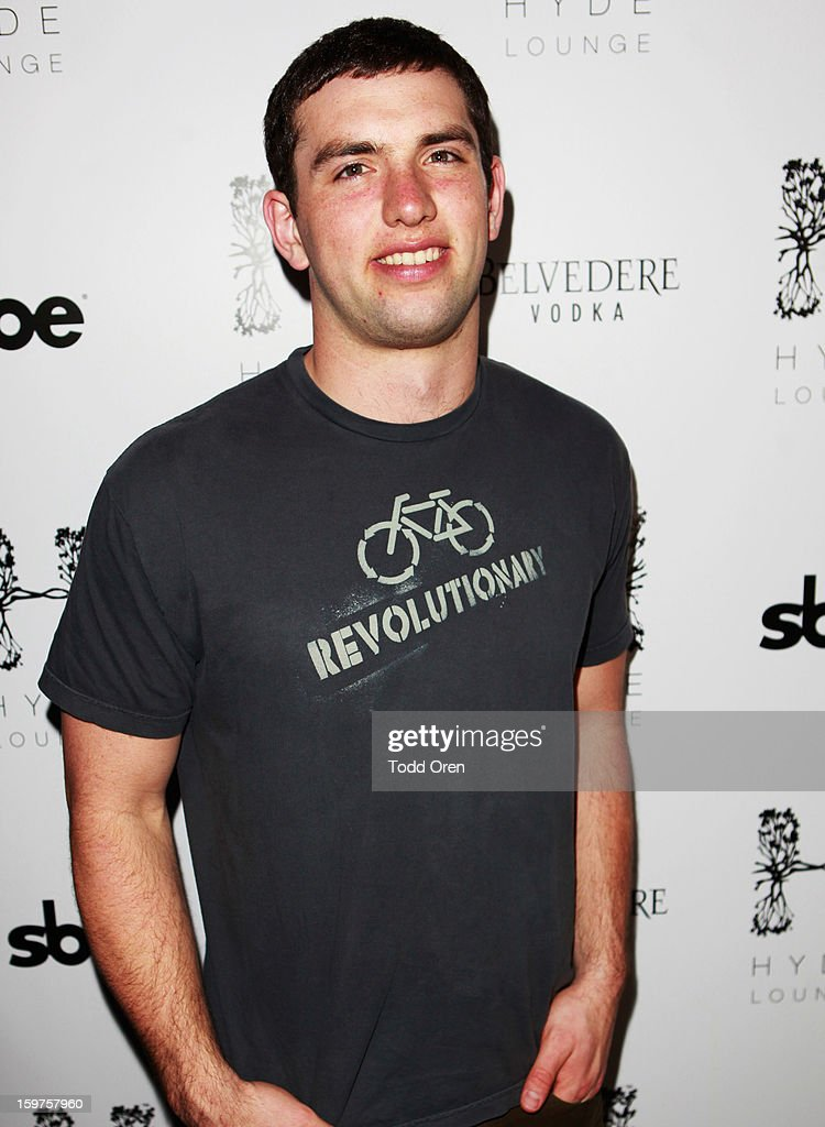 NFL player Andrew Luck attends Night 2 of Hyde Lounge on January 19, 2013 in Park City, Utah.