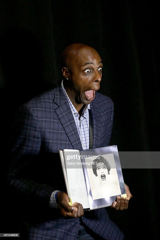 NBA player <a gi-track='captionPersonalityLinkClicked' href=/galleries/search?phrase=Anthony+Tolliver&family=editorial&specificpeople=4195496 ng-click='$event.stopPropagation()'>Anthony Tolliver</a> of the Detroit Pistons attends The Players' Awards presented by BET at the Rio Hotel & Casino on July 19, 2015 in Las Vegas, Nevada.
