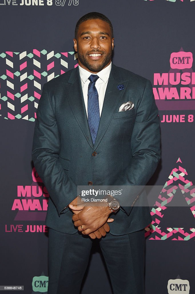 NFL player Avery Williamso attends the 2016 CMT Music awards at the Bridgestone Arena on June 8, 2016 in Nashville, Tennessee.