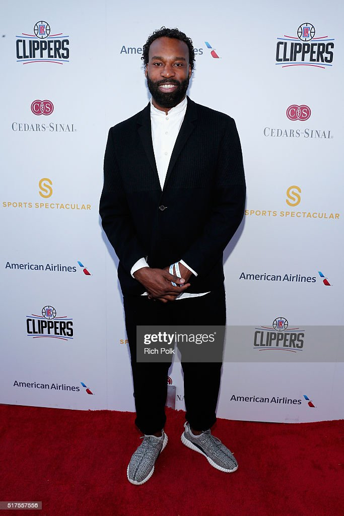 NBA player Baron Davis attends the Cedars-Sinai Sports Spectacular at W Los Angeles – West Beverly Hills on March 25, 2016 in Los Angeles, California.