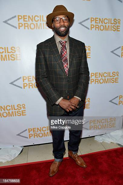 NBA player Baron Davis attends the second annual Pencils of Promise Gala at Guastavino's on October 25 2012 in New York City