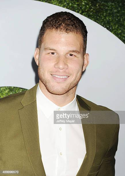 NBA player Blake Griffin arrives at the 2014 GQ Men Of The Year Party at Chateau Marmont on December 4 2014 in Los Angeles California