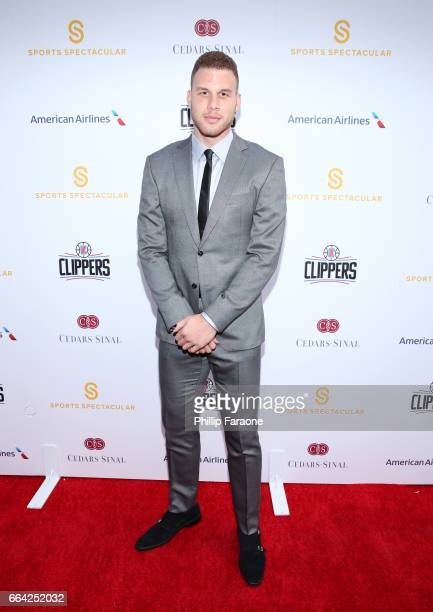 NBA player Blake Griffin attends 32nd Annual CedarsSinai Sports Spectacular at W Los Angeles Westwood on April 3 2017 in Los Angeles California