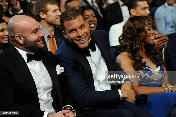 NBA player Blake Griffin attends The 2014 ESPYS at Nokia Theatre LA Live on July 16 2014 in Los Angeles California