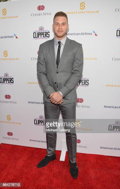 NBA player Blake Griffin attends the 32nd Annual CedarsSinai Sports Spectacular Gala at W Los Angeles Westwood on April 3 2017 in Los Angeles...