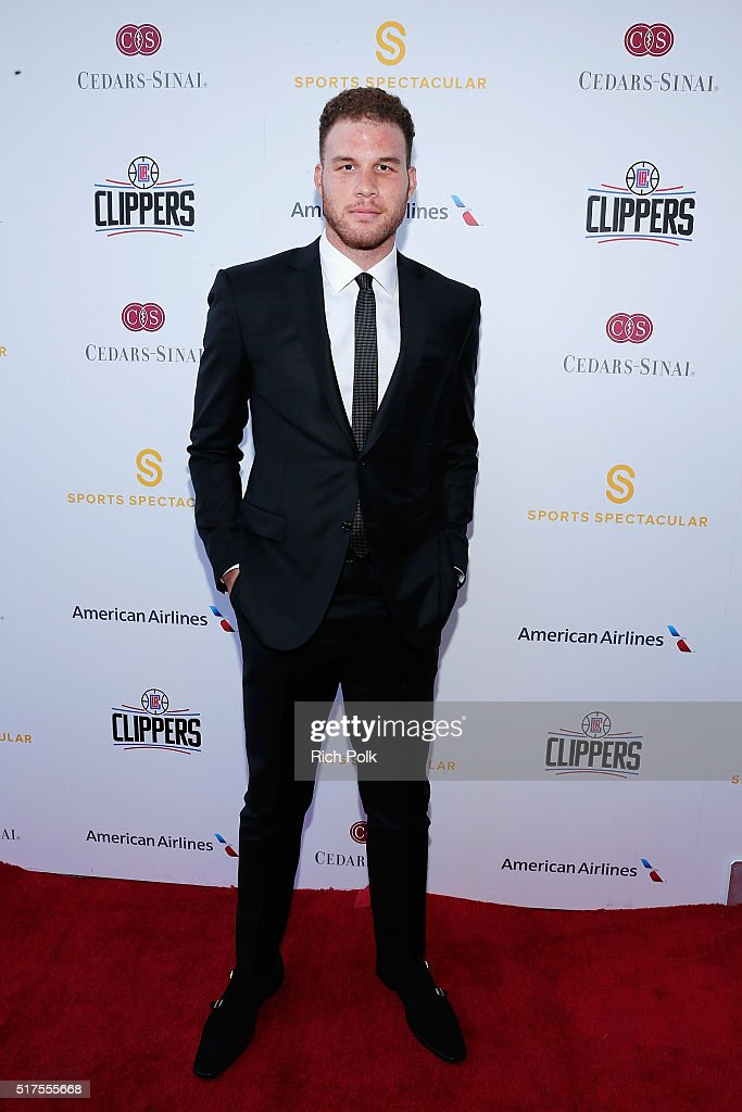 NBA player Blake Griffin attends the Cedars-Sinai Sports Spectacular at W Los Angeles – West Beverly Hills on March 25, 2016 in Los Angeles, California.