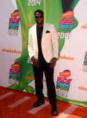 NFL player Brandon Flowers attends Nickelodeon Kids' Choice Sports Awards 2014 at UCLA's Pauley Pavilion on July 17 2014 in Los Angeles California