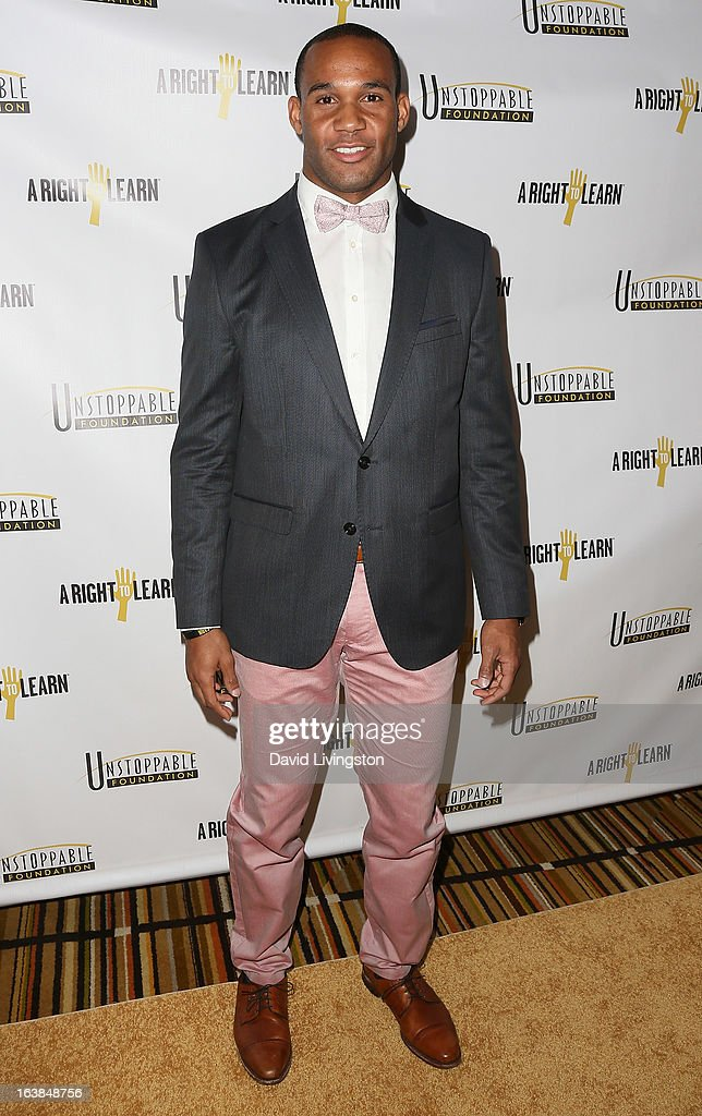 NFL player Bret Lockett attends the 4th Annual Unstoppable Gala at the Beverly Wilshire Four Seasons Hotel on March 16, 2013 in Beverly Hills, California.
