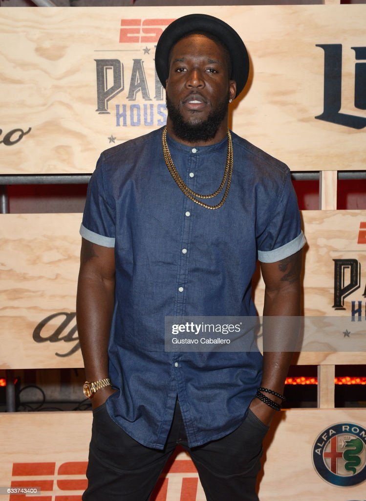 NFL player Brian Orakpo attends the 13th Annual ESPN The Party on February 3, 2017 in Houston, Texas.