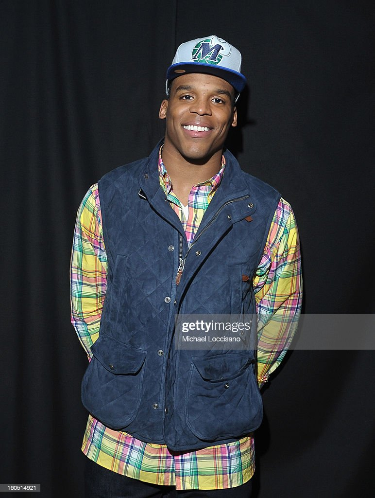 NFL player Cam Newton attends ESPN The Magazine's 'NEXT' Event at Tad Gormley Stadium on February 1, 2013 in New Orleans, Louisiana.
