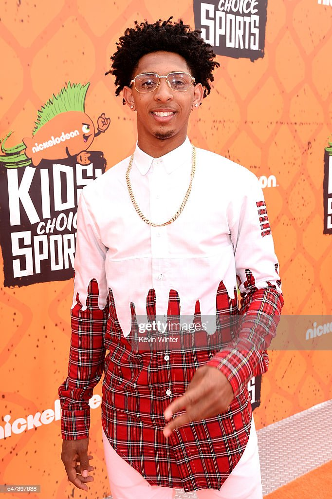 NBA player Cameron Payne attends the Nickelodeon Kids' Choice Sports Awards 2016 at UCLA's Pauley Pavilion on July 14, 2016 in Westwood, California.