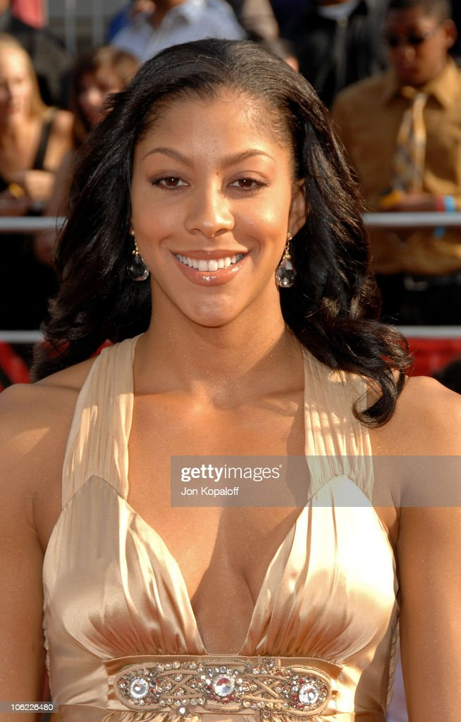 WNBA player <a gi-track='captionPersonalityLinkClicked' href=/galleries/search?phrase=Candace+Parker&family=editorial&specificpeople=752955 ng-click='$event.stopPropagation()'>Candace Parker</a> arrives at the 2008 ESPY Awards held at NOKIA Theatre L.A. LIVE on July 16, 2008 in Los Angeles, California. The 2008 ESPYs will air on Sunday, July 20 at 9PM ET on ESPN.