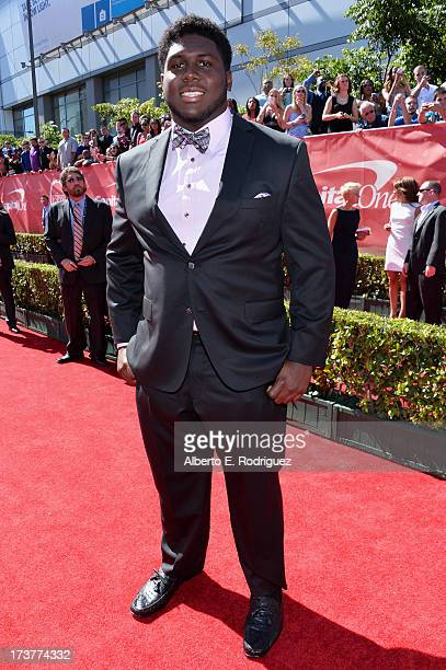 NFL player Chance Warmack attends The 2013 ESPY Awards at Nokia Theatre LA Live on July 17 2013 in Los Angeles California