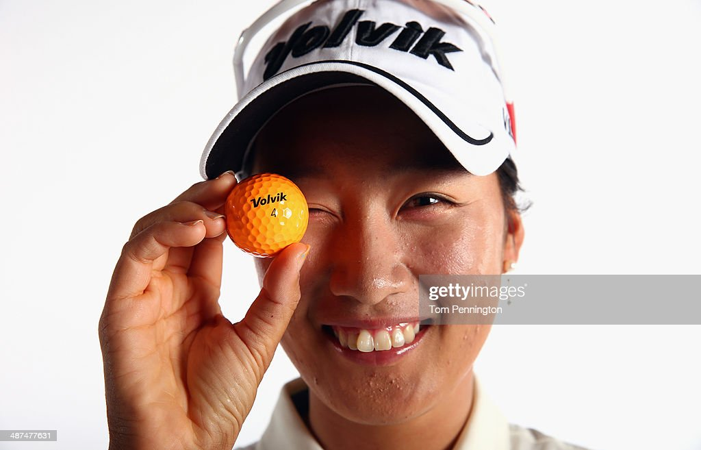LPGA player Chella Choi of South Korea poses for a portrait prior to the start of the North Texas LPGA Shootout Presented by JTBC at the Las Colinas...