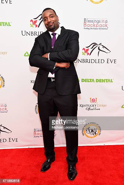 Player Chris Canty attends the 141st Kentucky Derby Unbridled Eve Gala at Galt House Hotel Suites on May 1 2015 in Louisville Kentucky