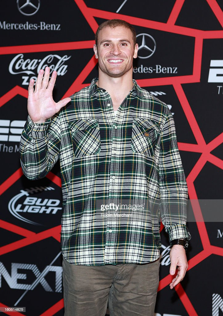NFL player Chris Long attends ESPN The Magazine's 'NEXT' Event at Tad Gormley Stadium on February 1, 2013 in New Orleans, Louisiana.