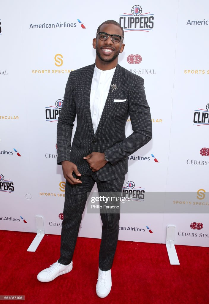 NBA player Chris Paul attends 32nd Annual Cedars-Sinai Sports Spectacular at W Los Angeles - Westwood on April 3, 2017 in Los Angeles, California.