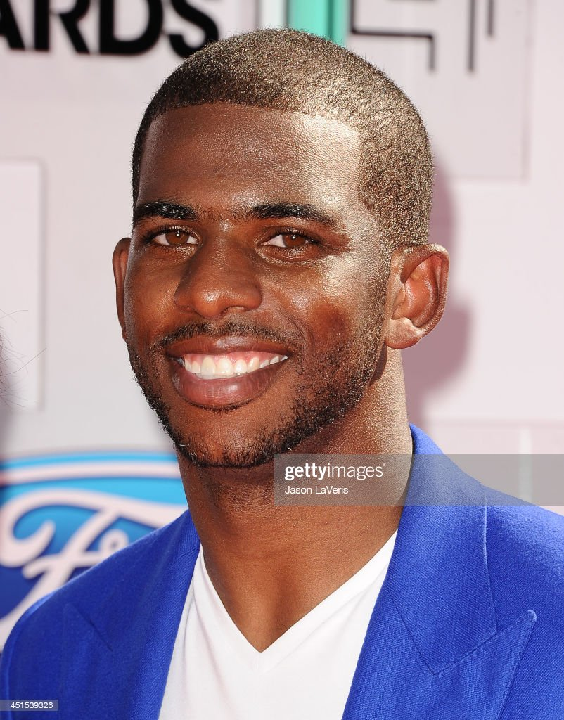 NBA player Chris Paul attends the 2014 BET Awards at Nokia Plaza LA LIVE on June 29 2014 in Los Angeles California