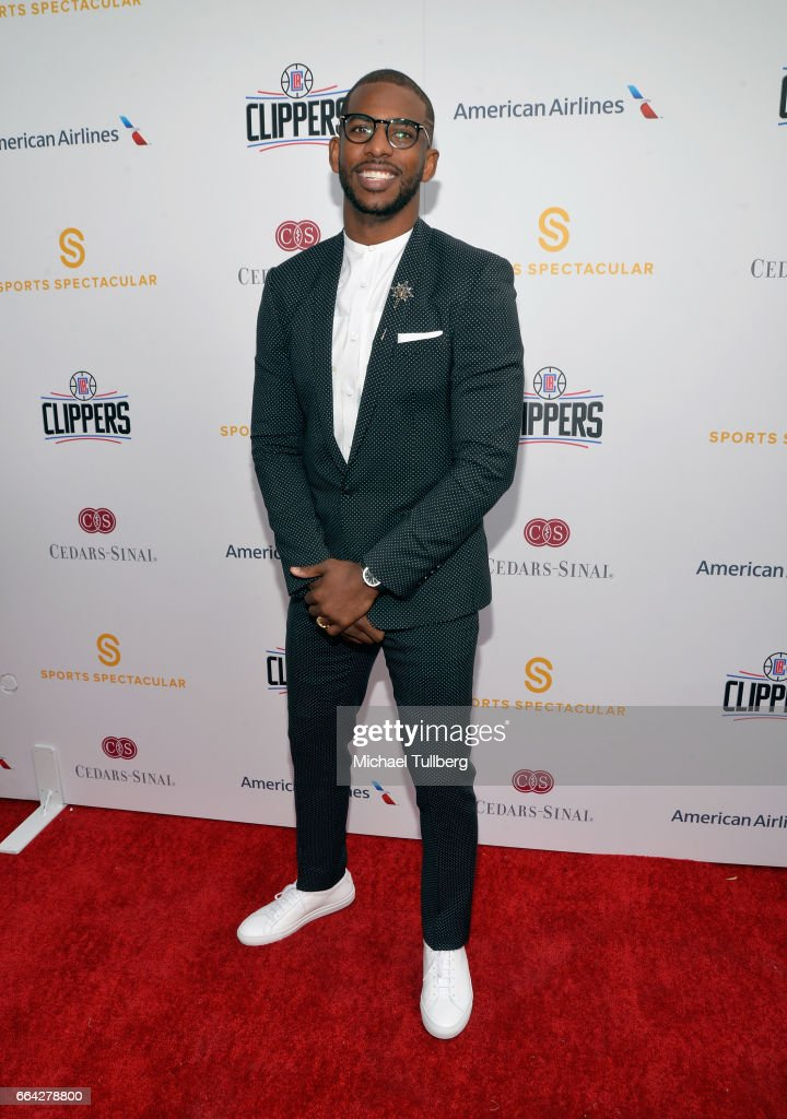 NBA player Chris Paul attends the 32nd Annual Cedars-Sinai Sports Spectacular Gala at W Los Angeles - Westwood on April 3, 2017 in Los Angeles, California.