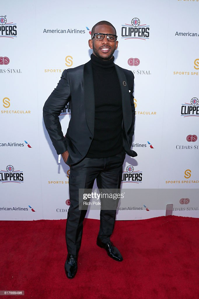 NBA player Chris Paul attends the Cedars-Sinai Sports Spectacular at W Los Angeles – West Beverly Hills on March 25, 2016 in Los Angeles, California.