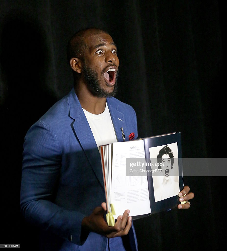NBA player Chris Paul of the Los Angeles Clippers attends The Players' Awards presented by BET at the Rio Hotel Casino on July 19 2015 in Las Vegas...