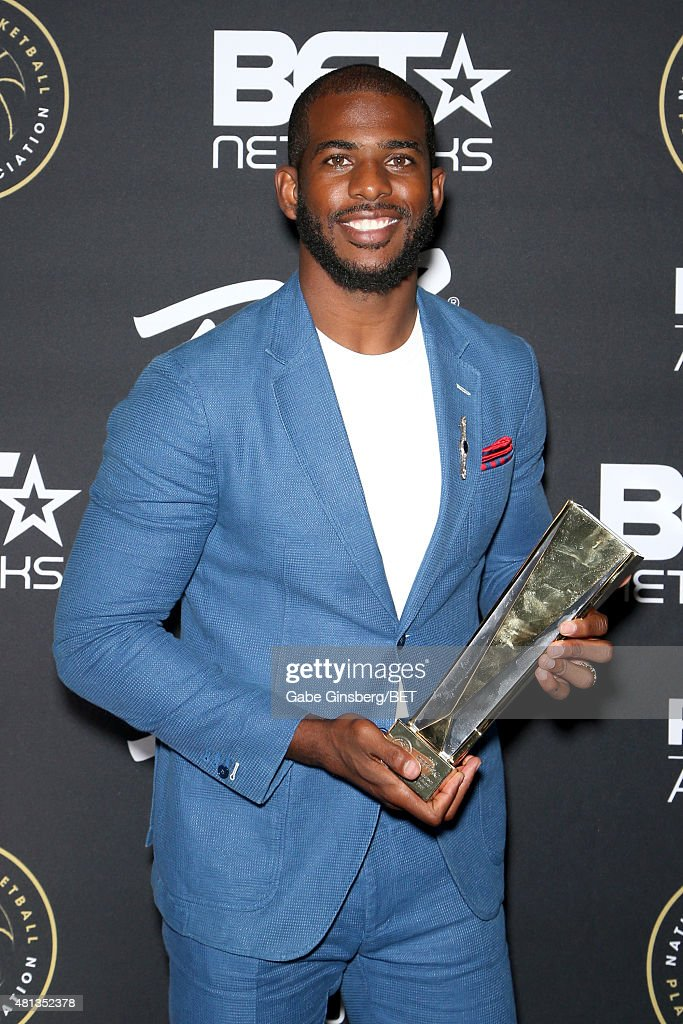 NBA player Chris Paul of the Los Angeles Clippers attends The Players' Awards presented by BET at the Rio Hotel & Casino on July 19, 2015 in Las Vegas, Nevada.