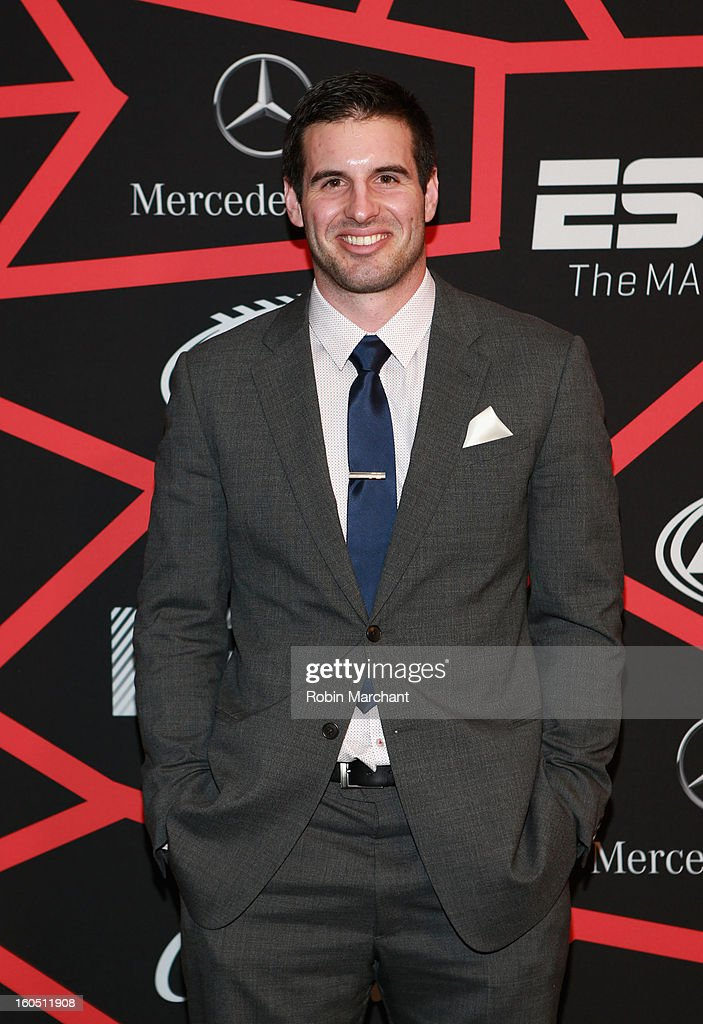 Player Christian Ponder attends ESPN The Magazine's 'NEXT' Event at Tad Gormley Stadium on February 1, 2013 in New Orleans, Louisiana.