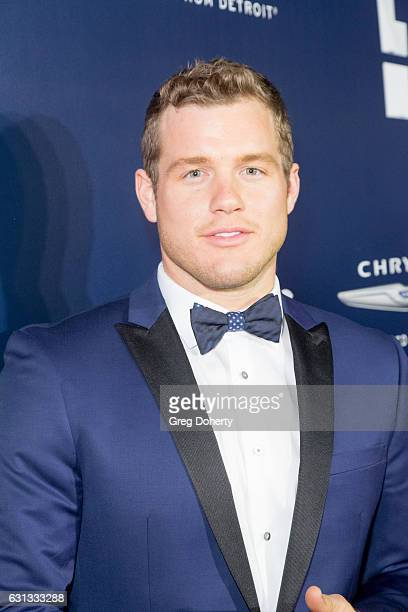 NFL player Colton Underwood arrives at the NBCUniversal's 74th Annual Golden Globes After Party at The Beverly Hilton Hotel on January 8 2017 in...